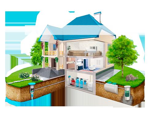 Автономное водоснабжение дома, монтаж, продажа, ремонт, сервис